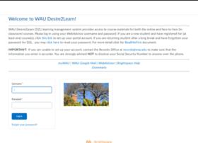 wau-adec.desire2learn.com