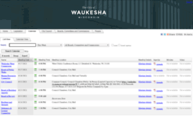 waukesha.legistar.com