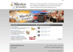 waupunfestivals.com