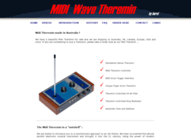 wave-theremin.com