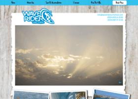 waveridersurfschool.com