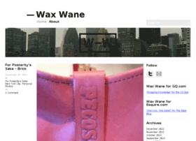 wax-wane.com