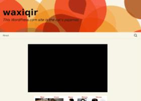 waxiqir.wordpress.com