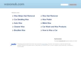 waxonuk.com
