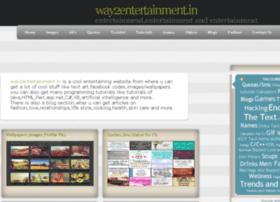 way2entertainment.com