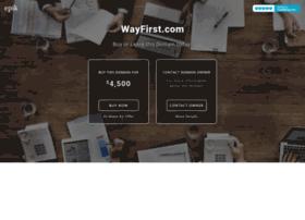 wayfirst.com