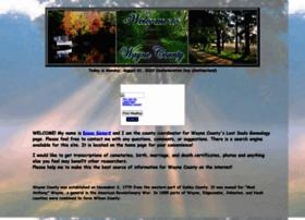 wayne.lostsoulsgenealogy.com