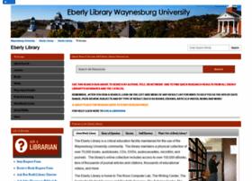 waynesburg.libguides.com
