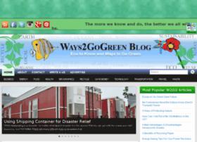 ways2gogreen.com