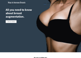 waystoincreasebreast.com