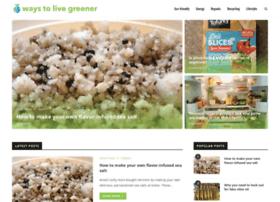 waystolivegreener.com