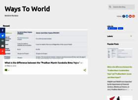 waystoworld.com