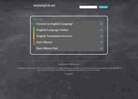 waytoenglish.net