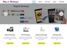 waytorecharges.com