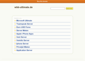 wbb-ultimate.de