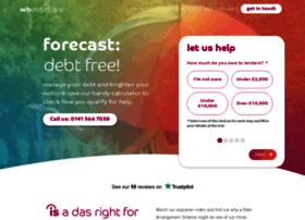 wbdebtcarescotland.com