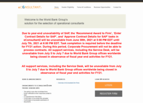wbgeconsult2.worldbank.org