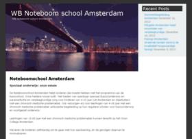 wbnoteboomschool.nl