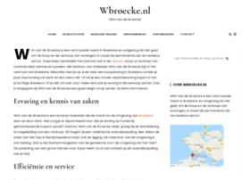 wbroecke.nl