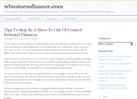 wbusinessfinance.com
