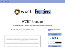 wcetfrontiers.org