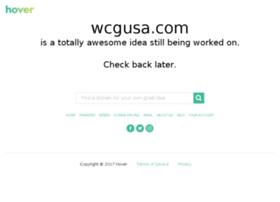 wcgusa.com