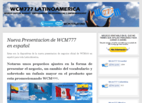 wcm777latinos.wordpress.com