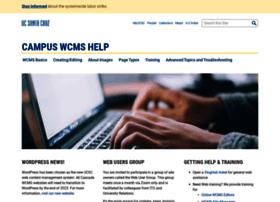 wcmshelp.ucsc.edu