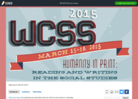 wcss2015.sched.org