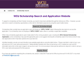 wcupa.scholarships.ngwebsolutions.com