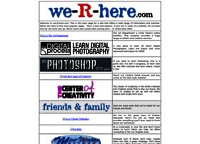 We-r-here.com
