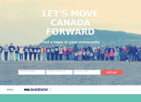 we.leadnow.ca