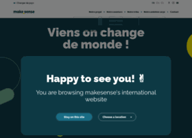 we.makesense.org