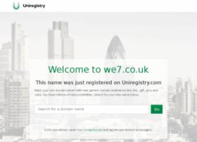 we7.co.uk