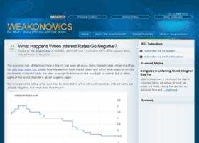 weakonomics.com