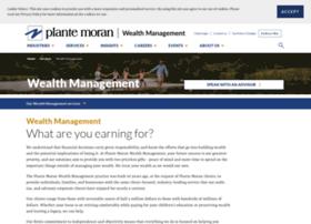 wealth.plantemoran.com