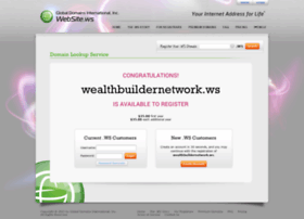 wealthbuildernetwork.ws