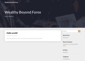 wealthybeyondforex.com