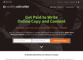 wealthywebwriter.com