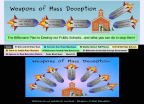 weaponsofmassdeception.org
