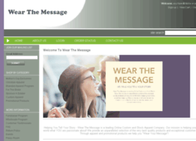 wearthemessage.com