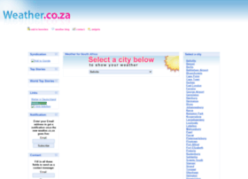 weather.co.za