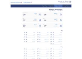 weather.israelinfo.co.il
