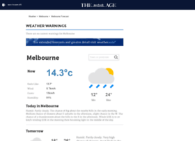weather.theage.com.au