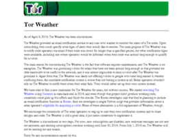 weather.torproject.org