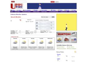 Weather.urduwire.com