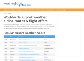 weather2flights.com