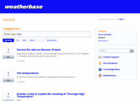 weatherbase.uservoice.com