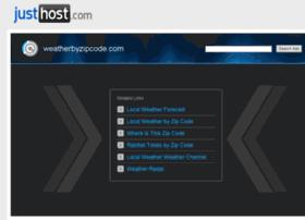 weatherbyzipcode.com