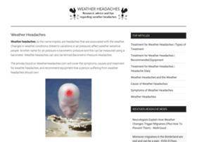 weatherheadaches.com